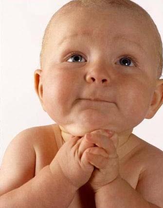 Dios mío - bebé - Oftalmología pediátrica - El día antes de la cirugía oftalmológica