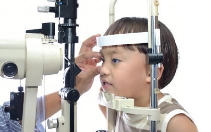 Biomicroscopía - Examen visual, ojos - Lámpara de hendidura - Oftalmología pediátrica Alvaro Sanabria
